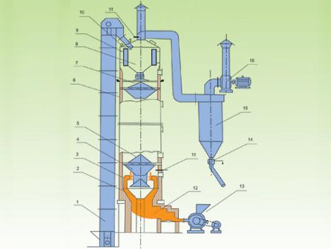 LHY型立式烘干机